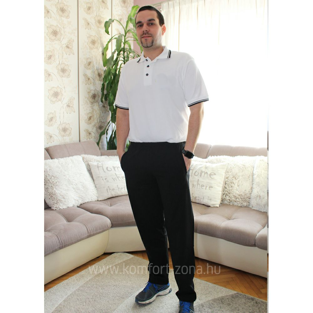 Férfi szabadidő ruha   KO-GO Férfi Fekete Szabadidő Ruha Alsó - Komfort-Zóna   7dbbb5592e
